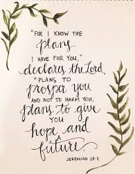 jeremiah 29-11-2