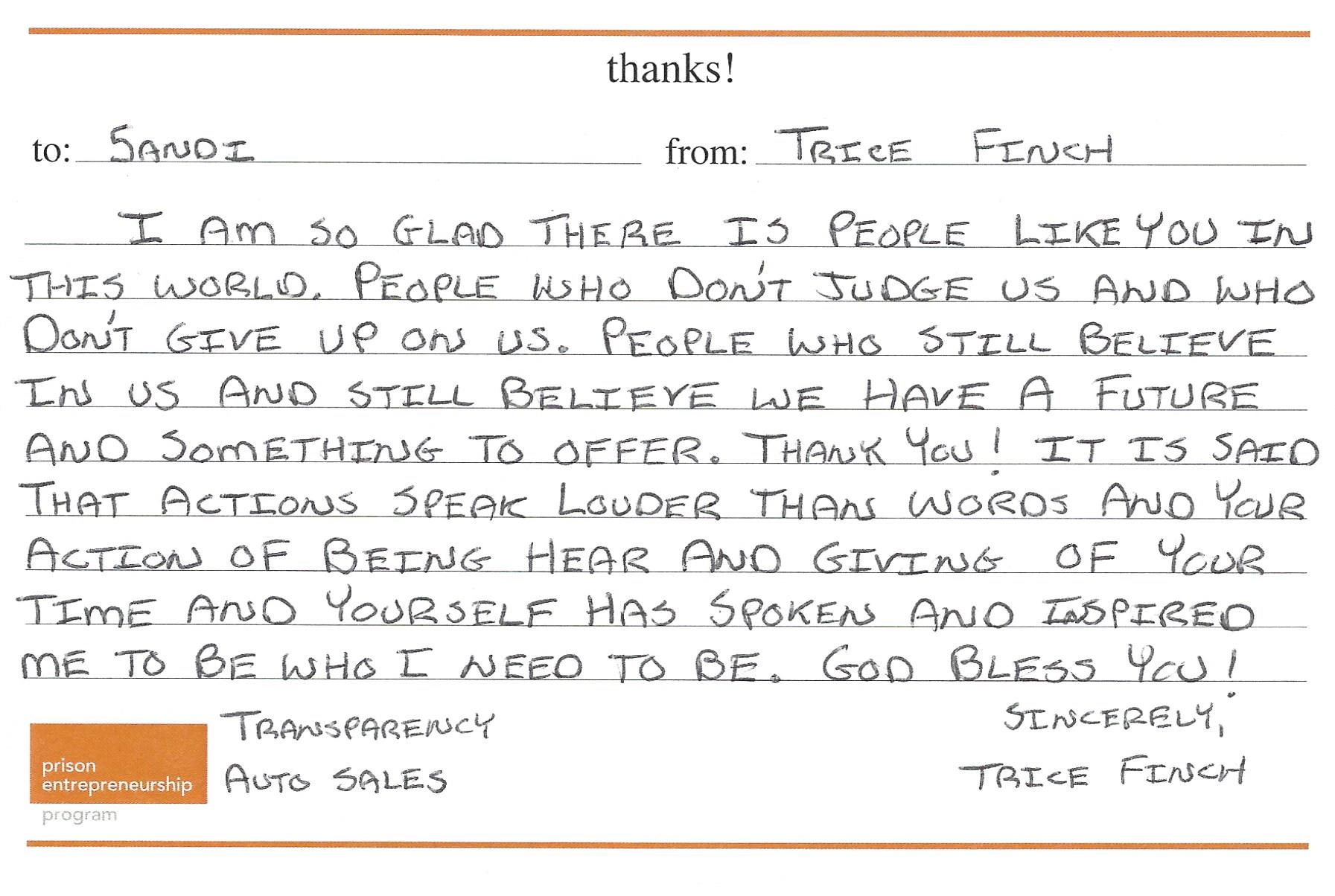 Thank you card 7